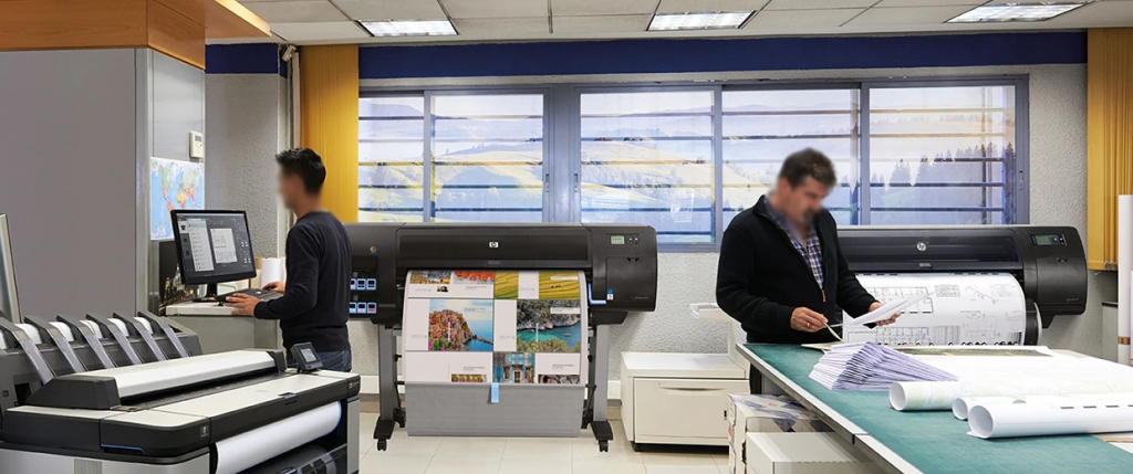 How Wide Format Printers Prove Beneficial For Construction Firms