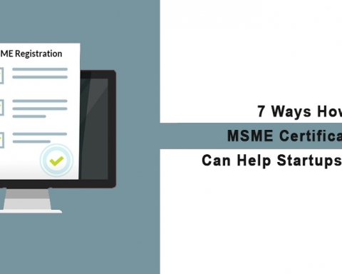 MSME Certification Can Help Startups in India