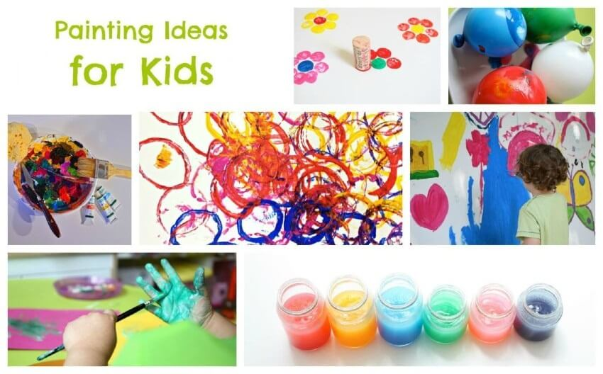 Entertaining Painting Ideas For Kids That You Must Try Today