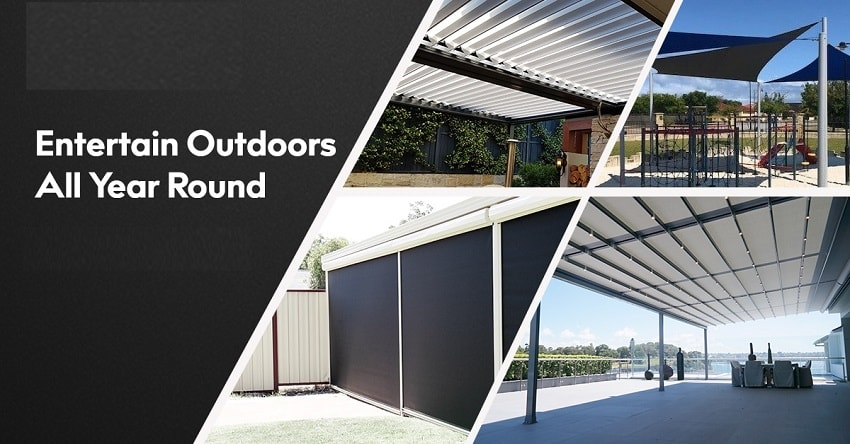 Homeowners Love to Use Outdoor Blinds in Perth