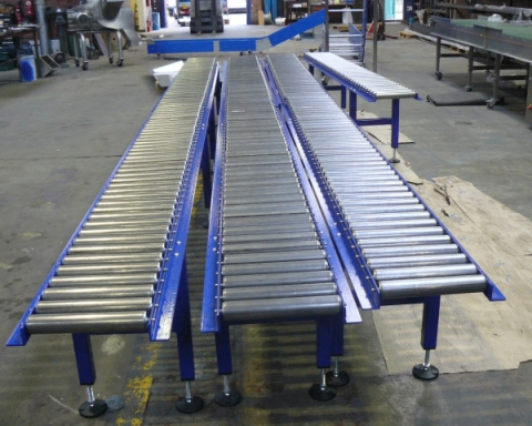 Golden rules for long-lasting gravity roller conveyors!
