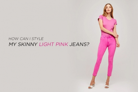 For skinny light pink jeans, we have styles to cater to your every mood.