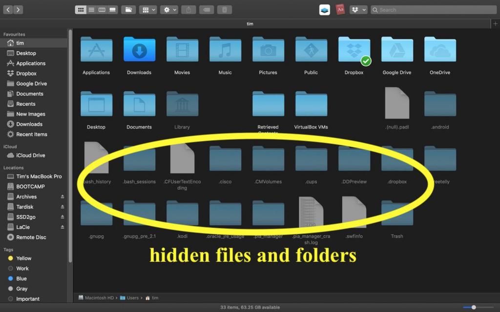 Show Hidden Files - MacBook Tips