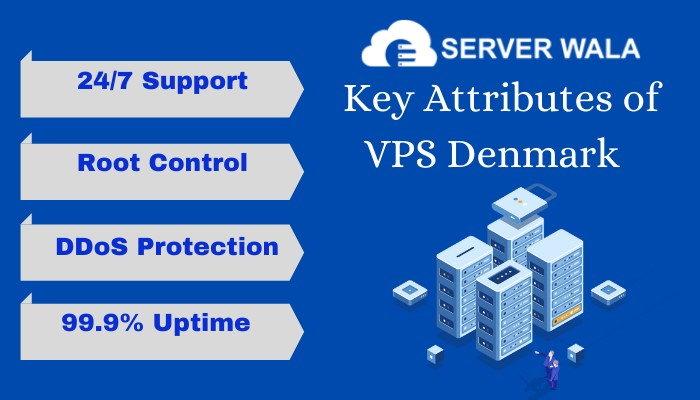 Key Attributes of VPS Denmark by Serverwala