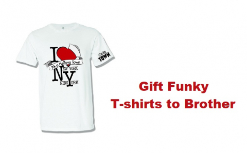 Gift Funky T-shirts Online India to Your Brother