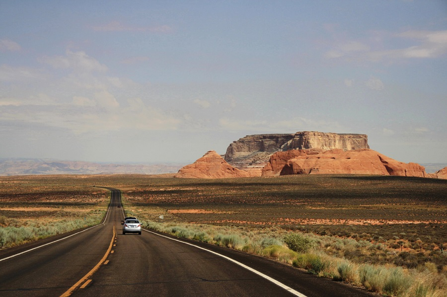 Arizona Highway in USA